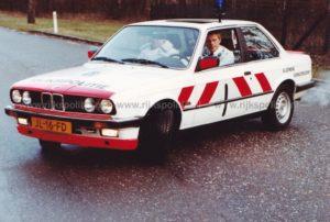 Algemene Verkeersdienst, Rijkspolitie, BMW 323i, JL-16-FD, AVD Driebergen.