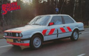 Algemene Verkeersdienst, Rijkspolitie, BMW 323i, Anne Hunze