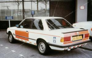 Algemene Verkeersdienst, Rijkspolitie, BMW 323i, KK-86-ZV, Alex 1236, rustadres 1067, Dienst Luchtvaart, DiLuVa, Schiphol.