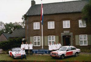 Algemene Verkeersdienst, Rijkspolitie, BMW 323i, KK-92-ZV, Alex 1242, Porsche 911 targa, HJ-38-VK, Alex 1205, Grathem, Jan Wadners, SE11, SE12, SE13,SE14, Hans Weijers, Henk Heurkens, Willem van de Griendt, Theo Volk, Ron Rispens, Hans Wijers, Jan-Willem Ooms.