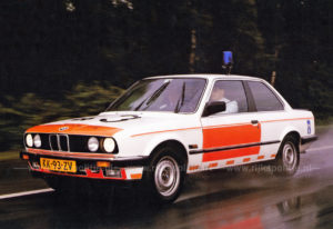 Algemene Verkeersdienst, Rijkspolitie, BMW 323i, KK-93-ZV, Alex 1243.