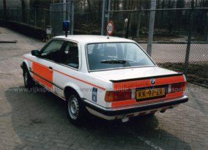 Algemene Verkeersdienst, Rijkspolitie, BMW 323i, KK-97-RV, Alex 1247, Driebergen.