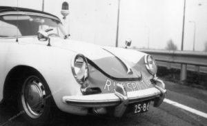 Algemene Verkeersdienst, sectie bijzondere verkeerstaken, Porsche 356, 25-86-BK.