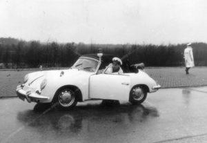 Dorus, Vlasakkers, Bernhardkazerne, sectie bijzondere verkeerstaken, Algemene Verkeersdienst, AVD, Rijkspolitie, Porsche 356, 25-86-BK