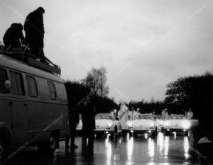 Dorus, Vlasakkers, Sectie Bijzondere Verkeerstaken, Algemene Verkeersdienst, AVD, Rijkspolitie, Porsche 356, 25-87-BK, Alex 2734, 25-90-BK