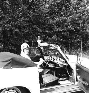 sectie bijzondere verkeerstaken (SBV), Algemene Verkeersdienst, AVD, Rijkspolitie, Porsche 356, 25-87-BK, Jan Waanders