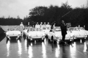 Dorus, Vlasakkers, Sectie Bijzondere Verkeerstaken, Algemene Verkeersdienst, AVD, Rijkspolitie, Porsche 356, ER-40-49, ER-40-51, HJ-86-78,25-87-BK, Alex 2734.