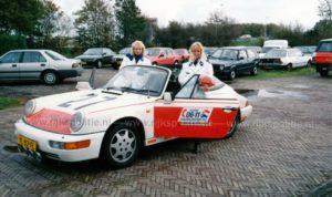 Algemene Verkeersdienst, Rijkspolitie, Porsche 911-964 targa, YL-82-FL, Alex1227, Bert Hartman.