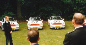 Algemene Verkeersdienst, Rijkspolitie, Porsche 911-964 targa, YL-85-FL, Alex 1207, Alex 1266, Cees Doornhein, YL-81-FL, Alex 1205, Alex 1243, YL-83-FL, Alex 1208, Alex 1249.