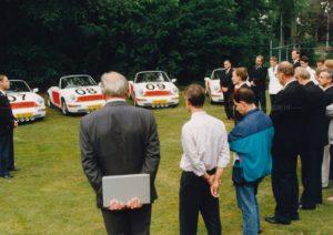Algemene Verkeersdienst, Rijkspolitie, Porsche 911-964 targa, YL-85-FL, Alex 1207, Alex 1666, YL-83-FL, Alex 1208, Alex 1249, Alex 1209, Alex 1265, Cees Doornhein, Hans Blonk.