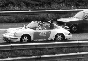 Algemene Verkeersdienst, Rijkspolitie, Porsche 911-964 targa, YL-85-FL, Alex 1207, Alex 1266.