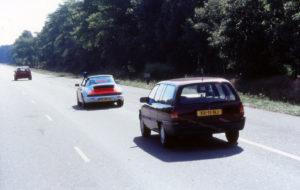 Algemene Verkeersdienst, Rijkspolitie, Porsche 911-964 targa, YL-85-FL, Alex 1207, Alex 1266, Opel Omega, XX-11-NJ