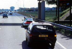 Algemene Verkeersdienst, Rijkspolitie, Porsche 911-964 targa, YL-85-FL, Alex 1207, Alex 1266, Opel Omega, XX-11-NJ.