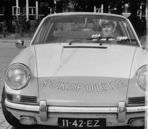 Algemene Verkeersdienst, Rijkspolitie, Groep Surveillance Autosnelwegen (SAS), Alex 1256, 11-42-EZ, Aart Batenburg.