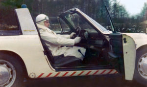 Algemene Verkeersdienst, Rijkspolitie, Groep Surveillance Autosnelwegen (SAS), Aart Batenburg.