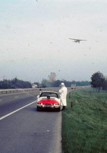 Algemene Verkeersdienst, Rijkspolitie, Porsche 912, 05-20-FA, Alex 1262, dienst luchtvaart, DiLuVa, Cessna, Kees Vogel.