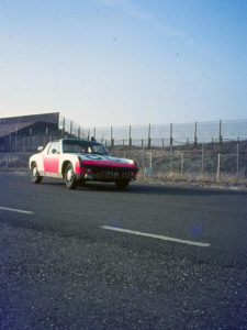 Algemene Verkeersdienst, Rijkspolitie, Porsche 914,11-10-MX, Alex 1286, circuit Zandvoort.