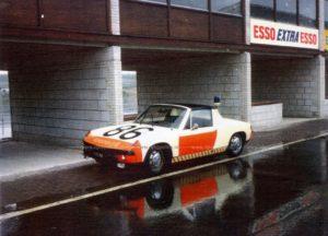 Algemene Verkeersdienst, Rijkspolitie, Porsche 914, 11-10-MX, Alex 1286, Zandvoort.
