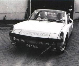 Algemene Verkeersdienst, Rijkspolitie, Porsche 914, 11-17-MX.