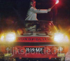 Algemene Verkeersdienst, Rijkspolitie, Porsche 914, 11-19-MX, Alex 1283, Alex 1287, 11-93-MX, fakkel, Joop Warrink.