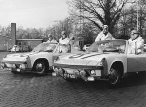 Algemene Verkeersdienst, Rijkspolitie, Porsche 914, 11-19-MX, Alex 1283, Alex 1287, 11-85-MX, Alex 1290, Rien van Stroe, Kees van Ravenhorst, Aad Bel.
