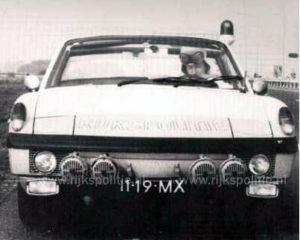 Algemene Verkeersdienst, Rijkspolitie, Porsche 914, 11-19-MX, Alex 1287.