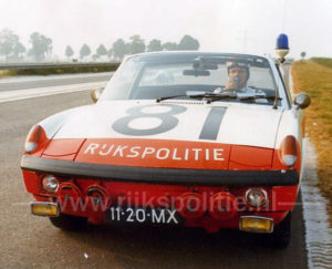 Algemene Verkeersdienst, Rijkspolitie, Porsche 914, 11-20-MX, Alex 1281, Bram Nijenhuis.