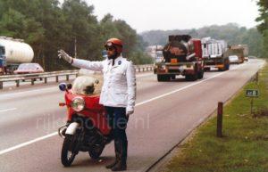 Algemene Verkeersdienst, Rijkspolitie, Groep Motor Surveillance (GMS), BMW Boxer, Ton van der Smit.