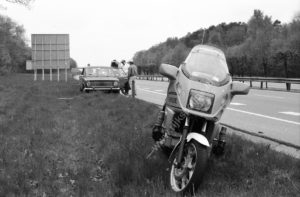 Rijkspolitie, algemene Verkeersdienst, MG-06-TF, Alex 1629, Groep Motorsurveillance, Ton van der Smit.