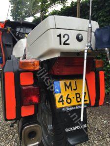 Algemene Verkeersdienst, Rijkspolitie, Groep Motorsurveillance, BMW K100RT, MJ-46-BZ, Alex 1612, Guido van Rooijen