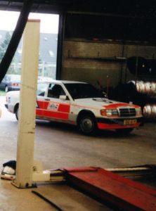 Algemene Verkeersdienst, Rijkspolitie, Mercedes 190, DG-JL-19, Alex 1297.