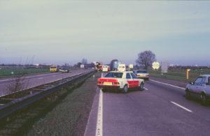 Algemene Verkeersdienst, Rijkspolitie, Mercedes 190, LX-79-XG, Alex 1264, Steunpunt Breda