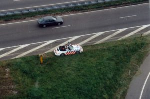 Algemene Verkeersdienst, Rijkspolitie, Porsche 911-964 Cabrio, GG-DP-48, Alex 1216, Bert Hartman, Dienst luchtvaart, Korps Landelijke Politiediensten.
