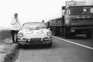 Algemene Verkeersdienst, Rijkspolitie, Porsche 911 targa, 25-27-PV, Alex 1293, Ton Dellebeke.