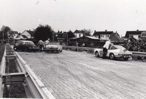 Algemene Verkeersdienst, Rijkspolitie, Porsche 911 targa, 25-29-PV, Alex 1295, Alex '71, Aad Bel, conferentie.