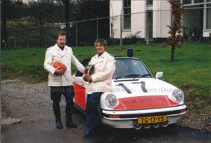 Algemene Verkeersdienst, Rijkspolitie, Porsche 911 targa, TG-13-YS, Alex 1217, Nico Woltil, gebouw A, Driebergen.