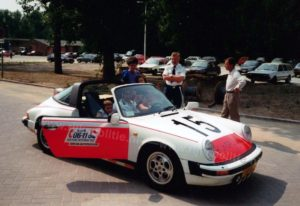 Algemene Verkeersdienst, Rijkspolitie, Porsche 911 targa, XT-11-ZL, Alex 1215, Henk Hadderingh, Driebergen.