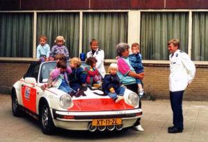 Algemene Verkeersdienst, Rijkspolitie, Porsche 911 targa, XT-11-ZL, Alex 1215, Frans Zuiderhoek.