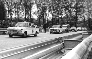 Algemene Verkeersdienst, Rijkspolitie, internationale conferentie Alex '71.