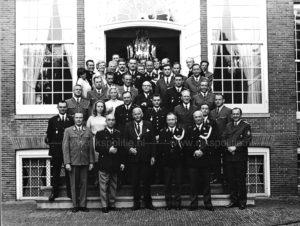 Algemene Verkeersdienst, Rijkspolitie, internationale conferentie Alex '71, Kees Vogel, Generaal de Gast, Theo Leenders, Dries Zee, van Min.