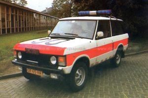 Algemene Verkeersdienst, Rijkspolitie, Groep Basis Surveillance, Range Rover, GK-65-HR, Alex1450, gebouw C, Driebergen.