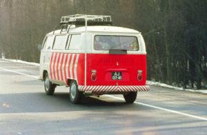 Algemene Verkeersdienst, Rijkspolitie, VW Transporter T2, AJ-07-41.