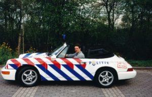 Algemene Verkeersdienst, Rijkspolitie, Groep Surveillance Autosnelwegen (SAS), Alex 1218, GJ-VH-61, Martin Woldinga.
