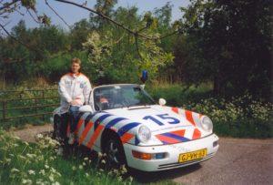 Algemene Verkeersdienst, Rijkspolitie, Groep Surveillance Autosnelwegen (SAS), Alex 1215, GJ-VH-63, Jaap van Barneveld.