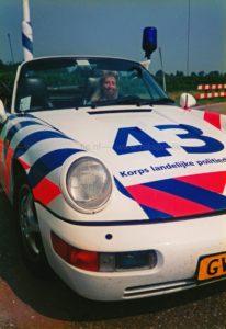 Algemene Verkeersdienst, Rijkspolitie, Groep Surveillance Autosnelwegen (SAS), Alex 1243, GV-JV-06, Ellen Veerhoek.