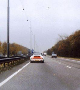 Algemene Verkeersdienst, Rijkspolitie, Groep Surveillance Autosnelwegen (SAS), Alex 1218, ZV-89-JX.