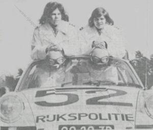 Algemene Verkeersdienst, Rijkspolitie, Groep Surveillance Autosnelwegen (SAS), Alex 1252, 00-29-ZP, Lucia Dirksen-Meering, Ank Floresse.