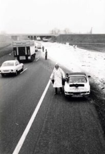 Algemene Verkeersdienst, Rijkspolitie, Groep Surveillance Autosnelwegen (SAS), Alex 1239, 05-RR-49, Hans Hoogkamer.