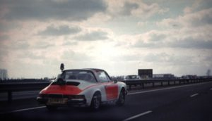 Algemene Verkeersdienst, Rijkspolitie, Porsche 911 targa, 51-HN-21, Alex 1204, Sportomatic, Lex Goumare.