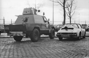 Algemene Verkeersdienst, Rijkspolitie, Groep Surveillance Autosnelwegen (SAS), Alex 1267, 84-XH-03, Shorland Land Rover.